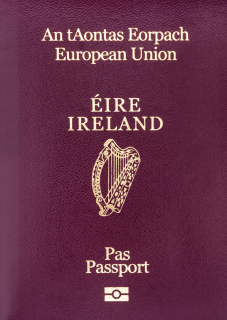 Irish Passport Photo