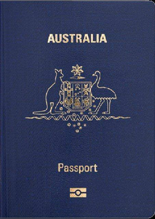 Australian Passport Photo